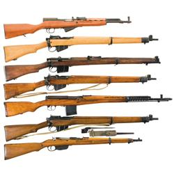 Two Carbines and Five Rifles