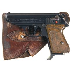 Walther PPK Model Semi-Automatic Pistol with Holster