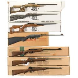 Seven Boxed Rifles