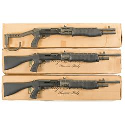 Three Boxed Franchi SPAS Shotguns