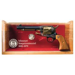 Cased Colt Single Action Army Missouri Sesquicentennial Commemorative Revolver