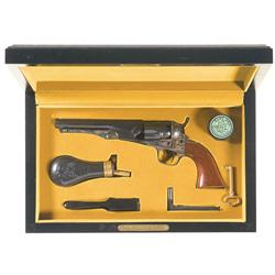 Colt Model 1862 Black Powder Series Revolver with Case and Accessories