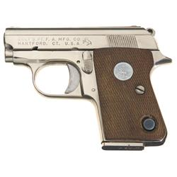Colt Junior 25 Caliber Semi-Automatic Pistol
