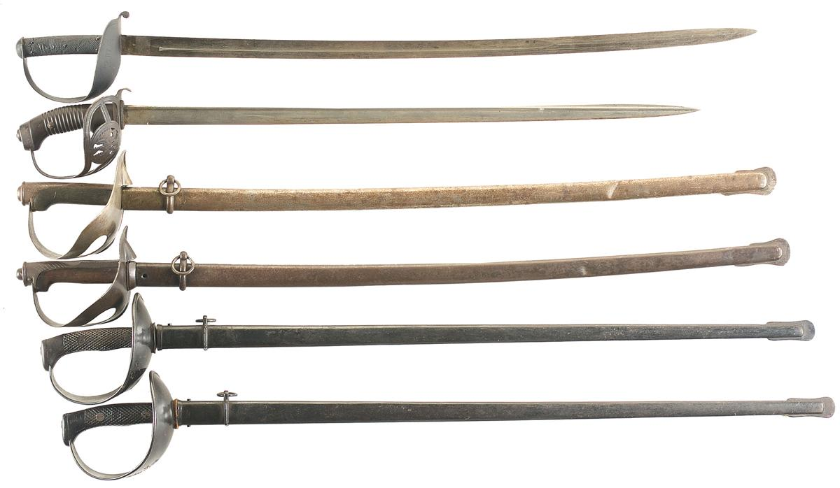 Six European Swords