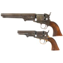 Two Antique Colt Percussion Revolvers