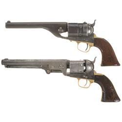 Two Colt Antique Revolvers