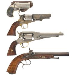 Two Pistols and Two Revolvers