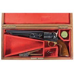 Colt Model 1860 Army Percussion Revolver with Case
