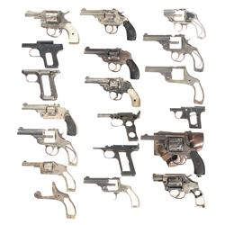 Large Group of Handguns and Handgun Parts