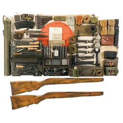 Large Assortment of Parts and Accoutrements