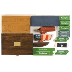 Wooden Cases, Holsters, and Knife Boxes