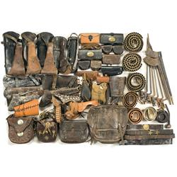 Miscellaneous  Items Including Holsters, Bayonets, Carbine Boots and Belts