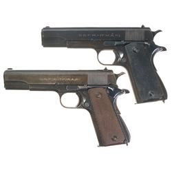 Two Argentine Model 1927 Pistols