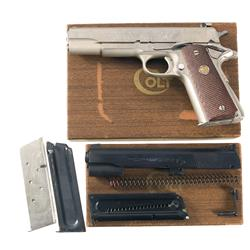 Colt MK IV Series 70 Government Model Semi-Automatic Pistol with Box, Conversion Kit, and Extra Maga