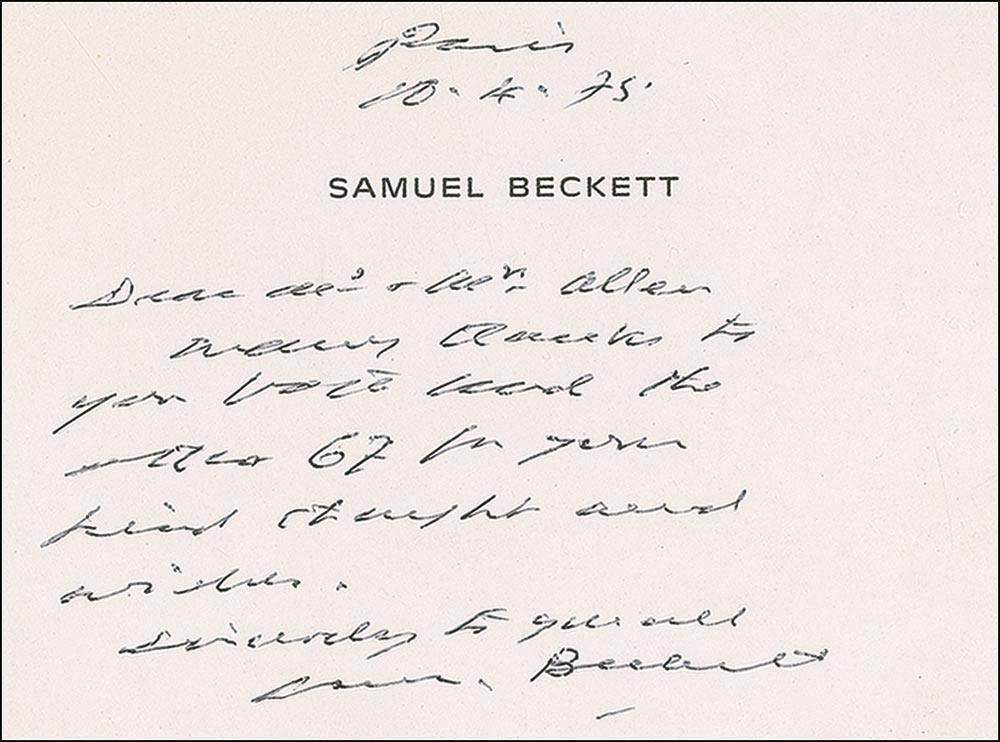 the avant garde characteristics of samuel becketts For the quantum leap character, see sam beckett  december 1989) was an  irish avant-garde novelist, playwright, theatre director, poet, and literary translator .