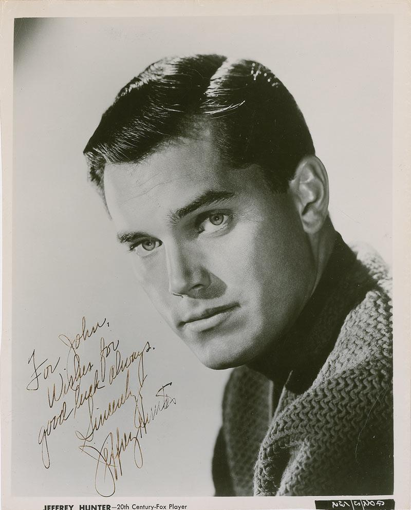 jeffrey hunter wiki