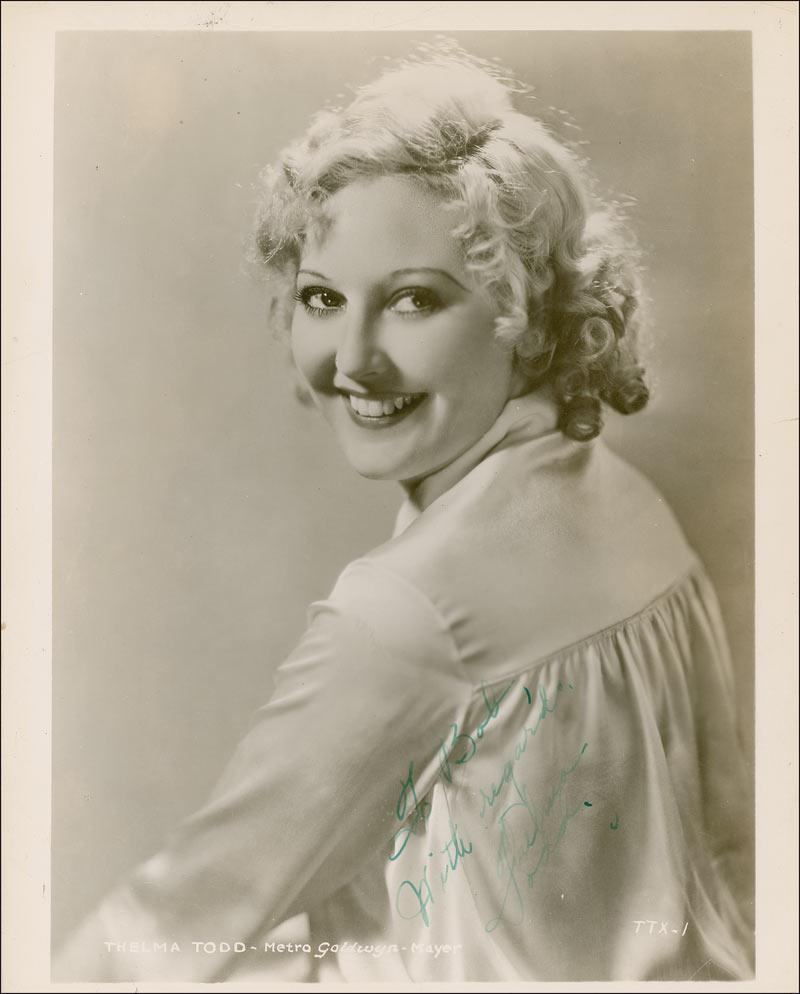 thelma todd cause of death