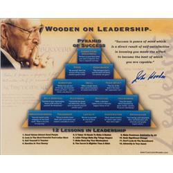 wooden on leadership book report (book report by gary tomlinson) preface: john wooden was a three-time all-american while playing basketball at purdue university he is the only man ever elected to college basketball's hall of fame as both player and coach.