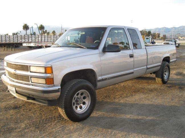 1996 chevrolet silverado z71 4x4 extended cab pick. Black Bedroom Furniture Sets. Home Design Ideas