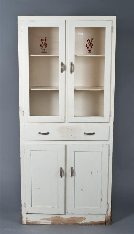 - Vintage Kitchen Cabinet