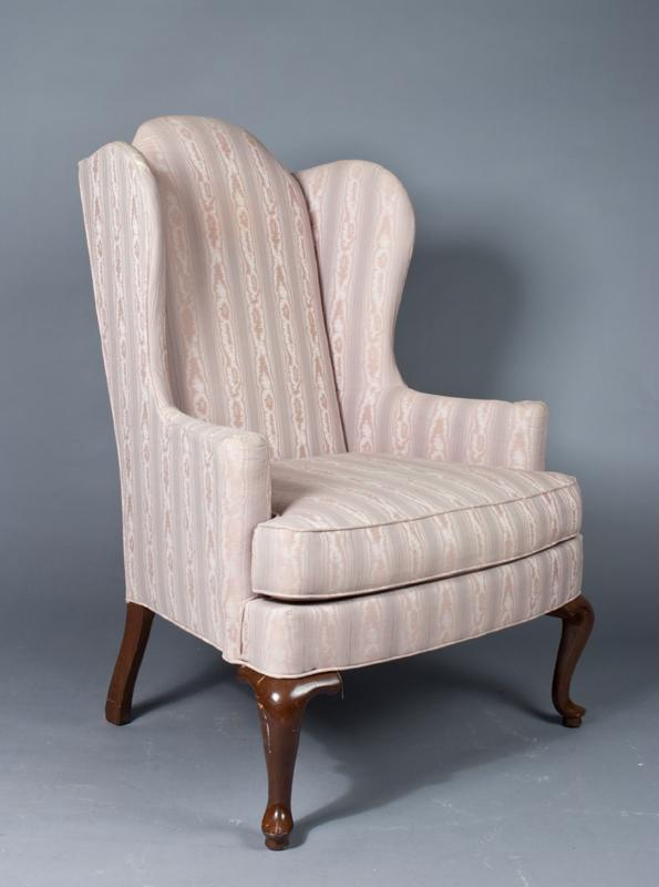 Queen Anne Wing Chair images
