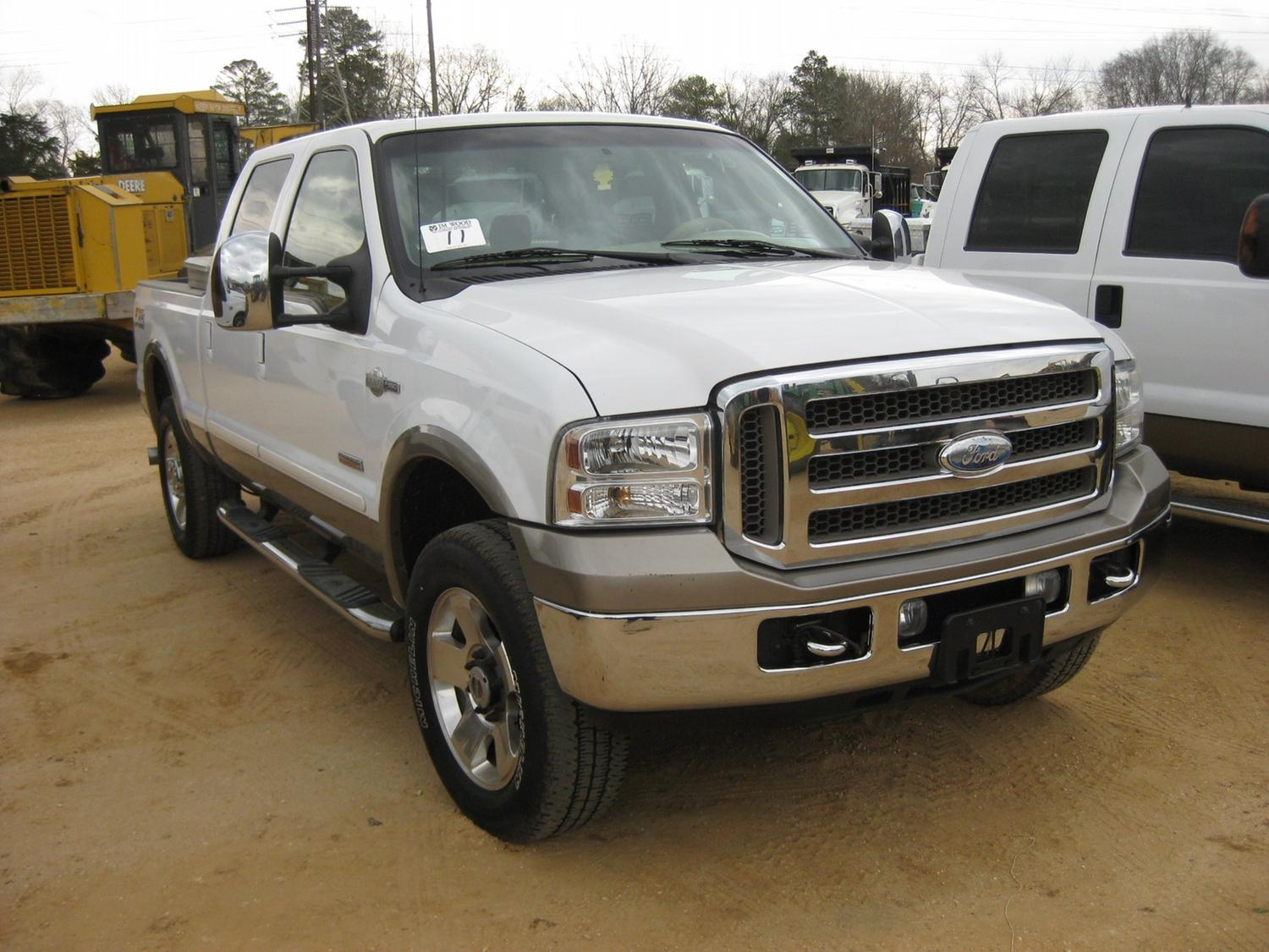 2006 ford f250 king ranch 4x4 crewcab j m wood auction company inc. Black Bedroom Furniture Sets. Home Design Ideas