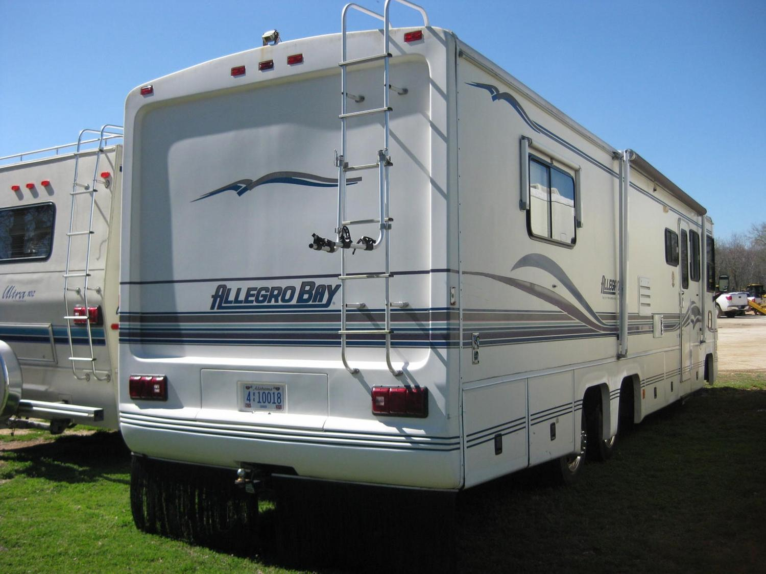 1997 allegro bay class a motor home j m wood auction for Allegro home