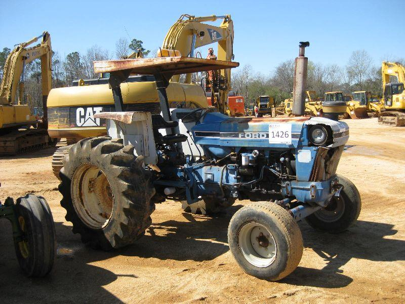 6100 Ford Tractor : Ford farm tractor j m wood auction company inc