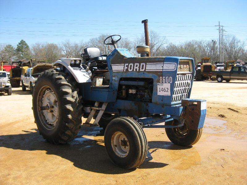 Ford 8600 Tractor Pto Assembly For : Ford farm tractor j m wood auction company inc