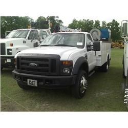 2008 FORD F550 SERVICE TRUCK