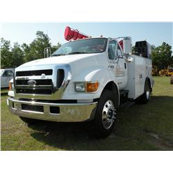 2007 FORD F650 SERVICE TRUCK
