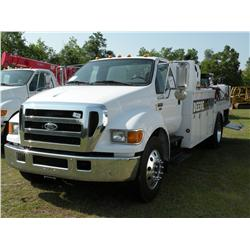 2004 FORD F650 FUEL & LUBE TRUCK