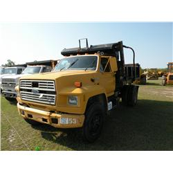1987 FORD F800 S/A DUMP