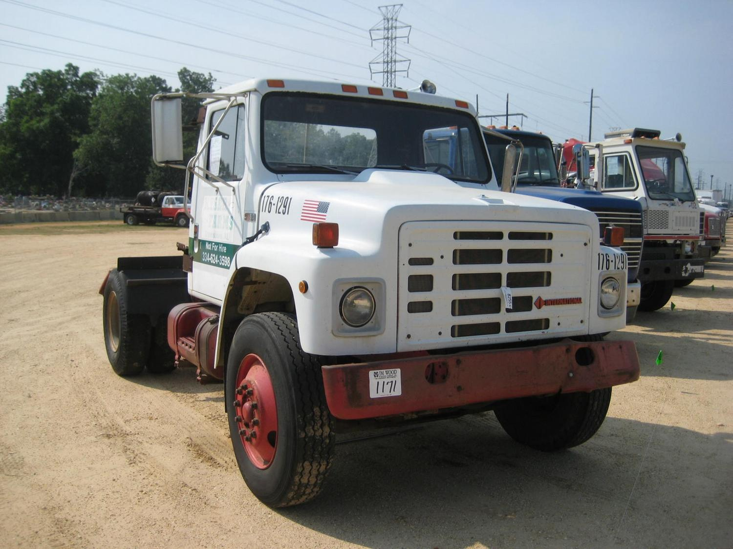 Image 1 : 1988 INTERNATIONAL S1900 S/A TRUCK TRACTOR ...