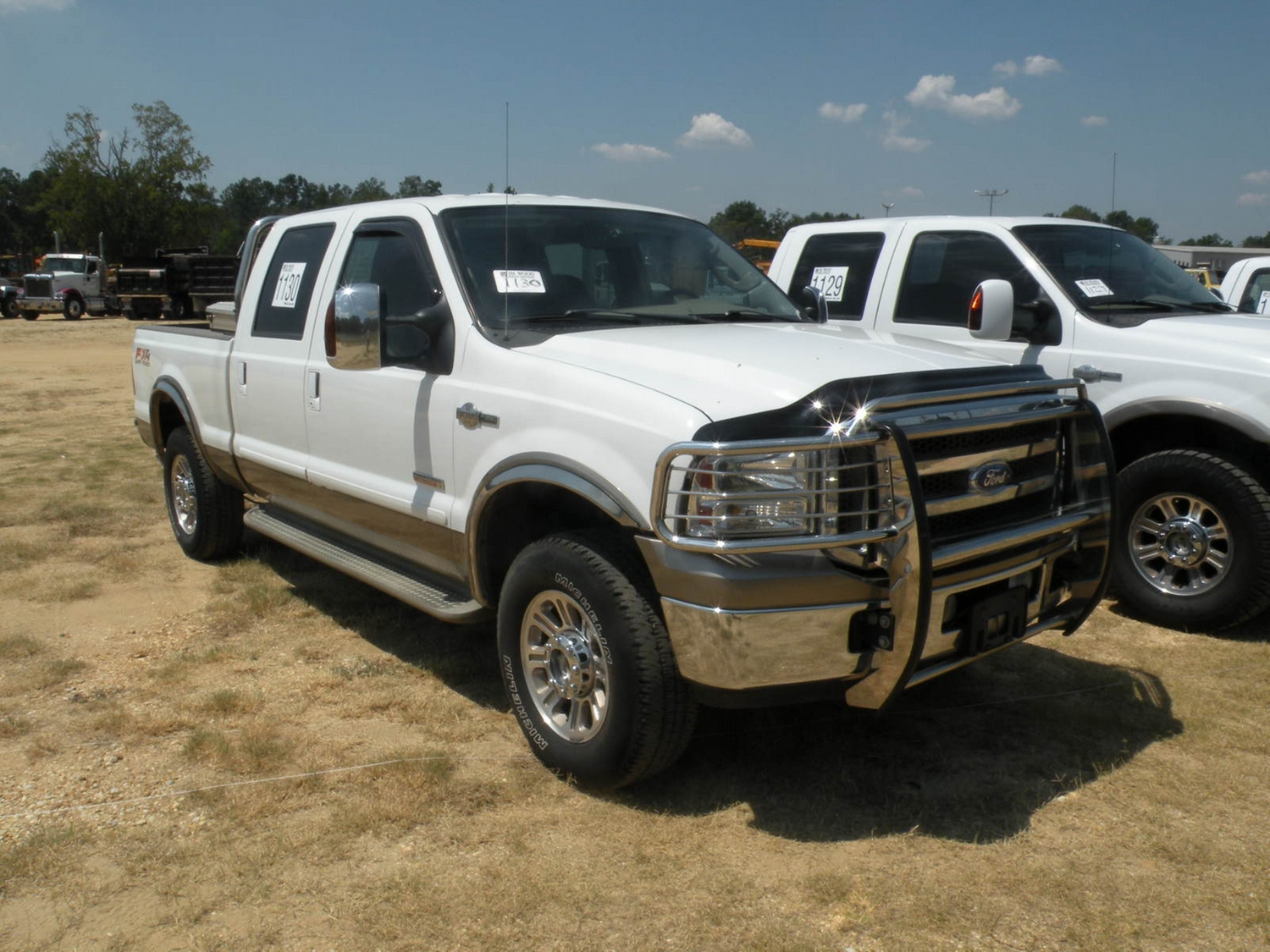 2005 ford f250 king ranch 4x4 crewcab pickup j m wood auction company inc. Black Bedroom Furniture Sets. Home Design Ideas