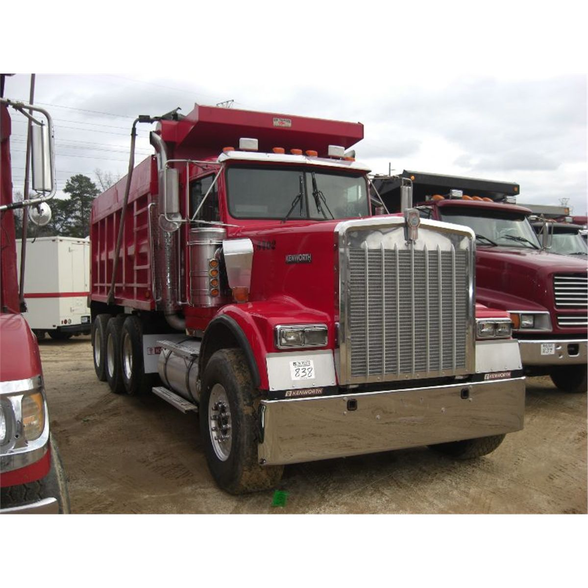 1999 KENWORTH W900 TRI AXLE DUMP TRUCK - J.M. Wood Auction ...Kenworth Dump Trucks