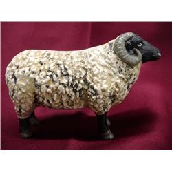 Antique Cast Iron Sheep Bank