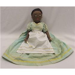 Antique Black Cloth Half Doll ''Mammy''