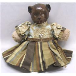 Vintage Composition And Cloth Bear Doll