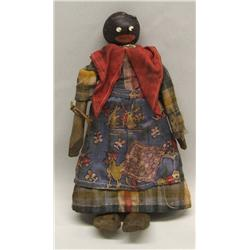Vintage Lulu the Good Luck Black Doll