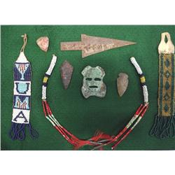 Collection of Native American Artifacts
