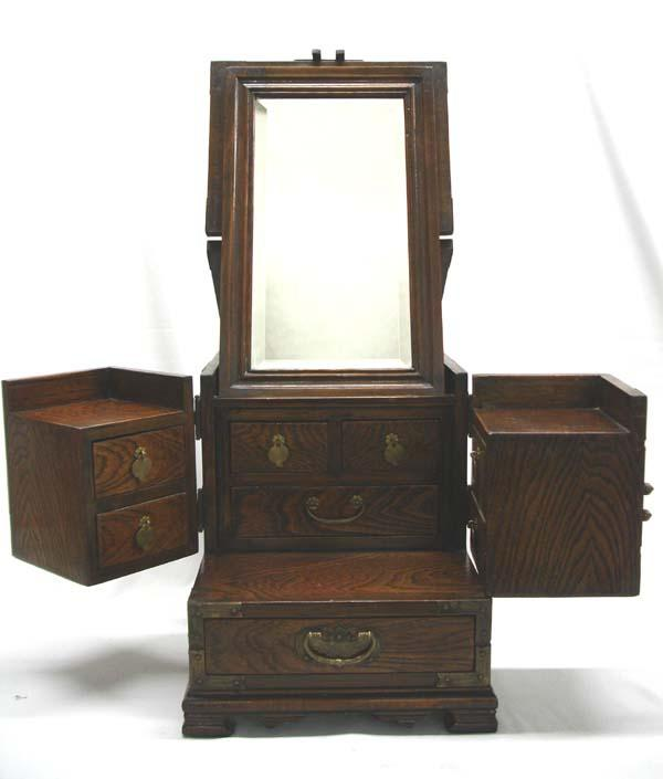 sc 1 st  iCollector.com & Antique Asian Wooden Dressing Table Jewelry Box Aboutintivar.Com
