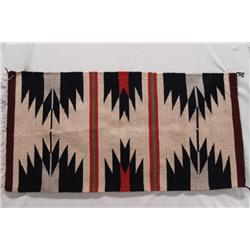 Native American Navajo Rug by Faye Peterson