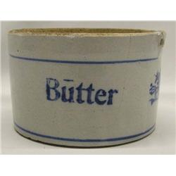 Antique Butter Crock With No Lid