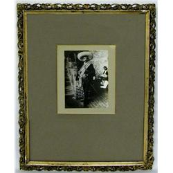 Framed Vintage Mexican Photograph