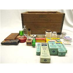 Antique Medicine Cabinet From Ginger Ale Box Plus