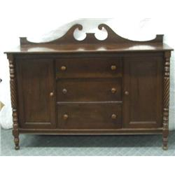 Antique Mahogany Buffet MUST BE PICKED UP