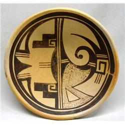 Native Amreican Hopi Classic Plate by Toney