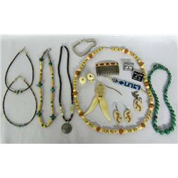 Collection of Miscellaneous Ethnic Jewelry