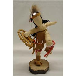 Native American Iroquois Corn Husk Doll